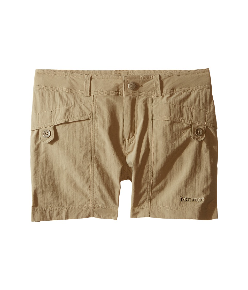 Marmot Kids - Ginny Shorts (Little Kids/Big Kids) (Desert Khaki) Girl's Shorts