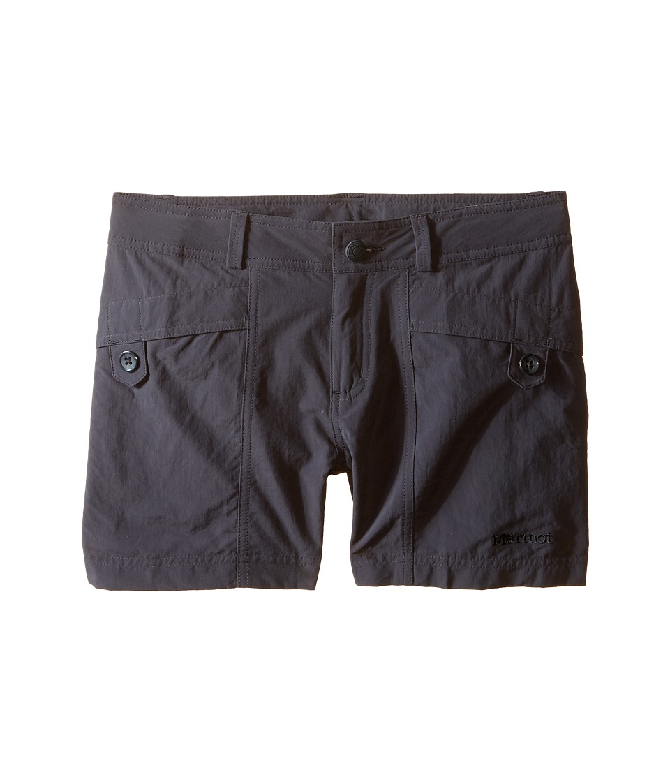 Marmot Kids - Ginny Shorts (Little Kids/Big Kids) (Dark Steel) Girl's Shorts