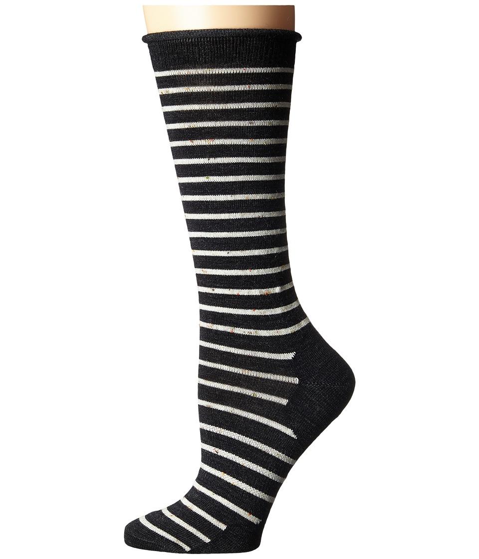 Smartwool - Vista View Mid Calf (Charcoal Heather) Women's Crew Cut Socks Shoes