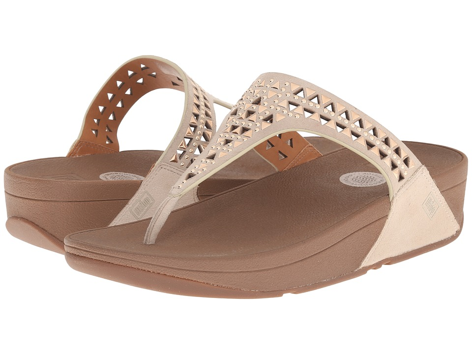 FitFlop - Carmel Toe Post (Rose Gold) Women's Sandals