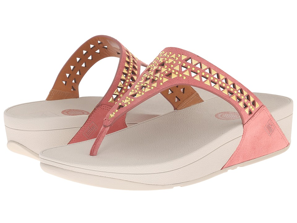 FitFlop Carmel Toe Posttm (Peach) Women