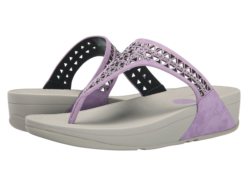 FitFlop - Carmel Toe Post (Plumthistle) Women's Sandals