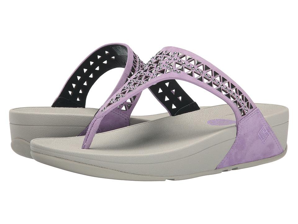 FitFlop - Carmel Toe Post (Plumthistle) Women's Sandals