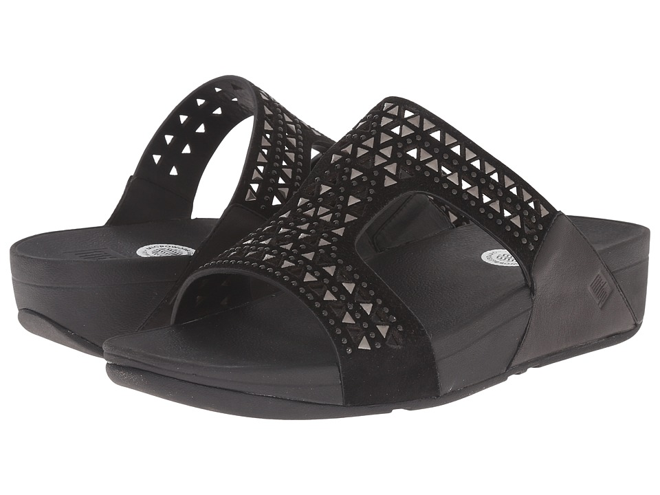 FitFlop - Carmel Slide (All Black) Women's Sandals
