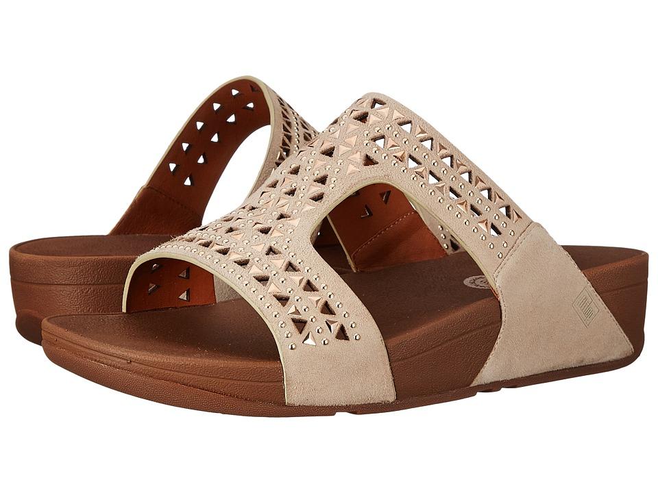 FitFlop - Carmel Slide (Rose Gold) Women's Sandals