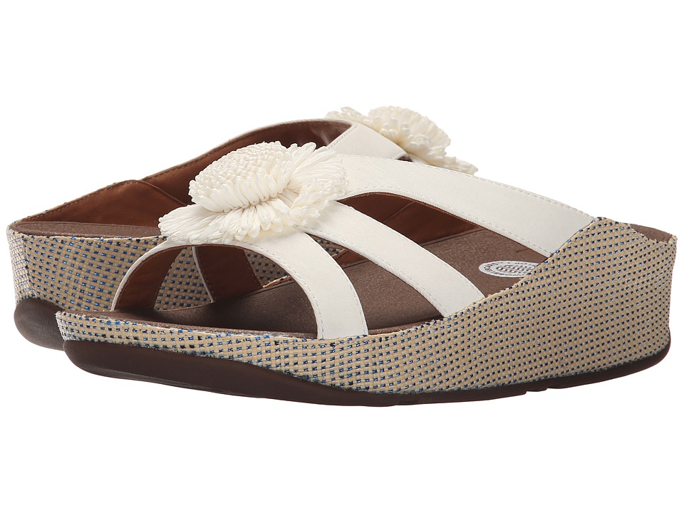FitFlop - Rosita Slide (Urban White) Women's Slide Shoes