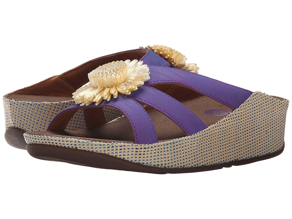 FitFlop - Rosita Slide (Purple Power) Women's Slide Shoes