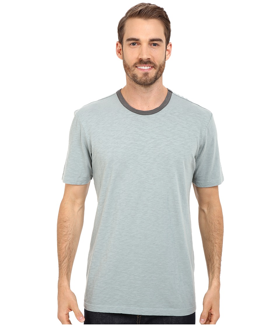 Ecoths - Porter Tee (Silver Blue) Men's T Shirt