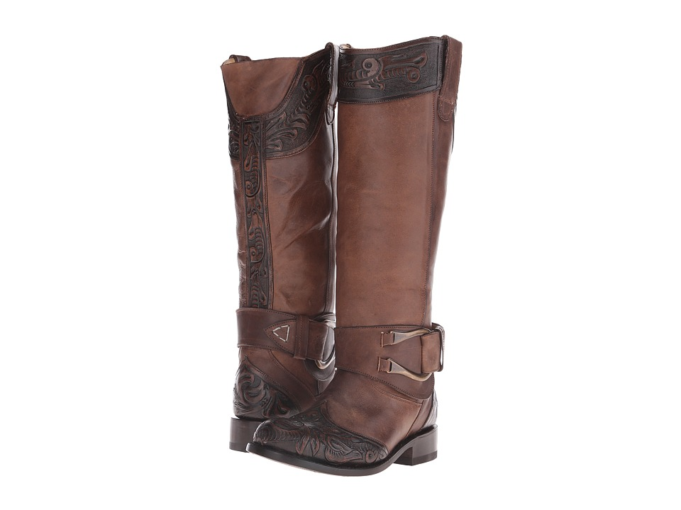 Stetson Paisley (Brown Vamp) Cowboy Boots