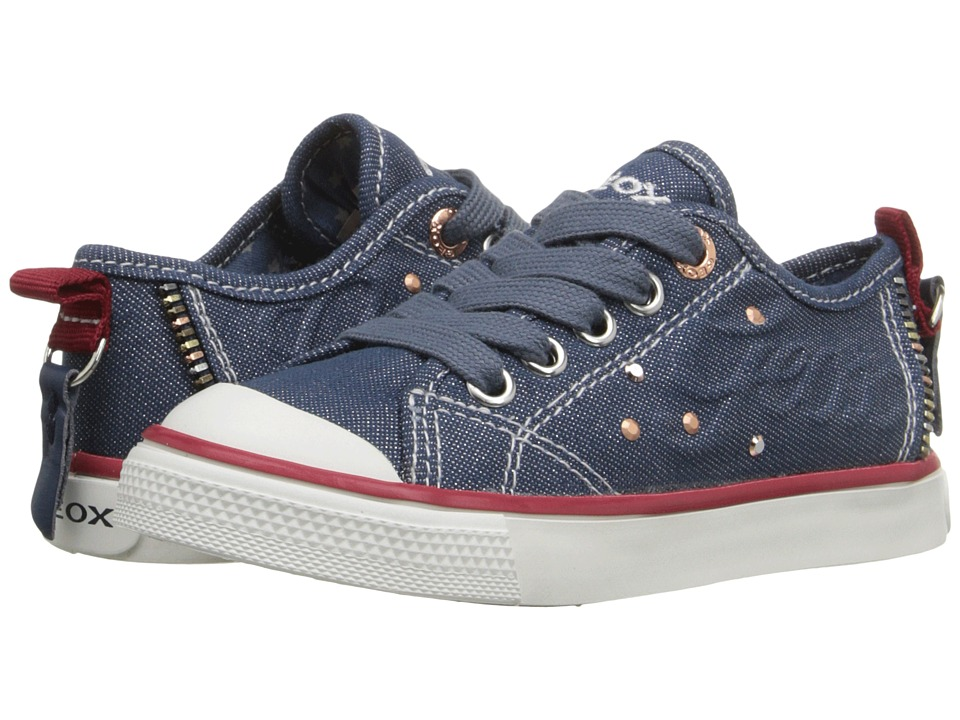 Geox Kids - Jr Ciak Girl 47 (Toddler/Little Kid) (Jeans) Girl's Shoes