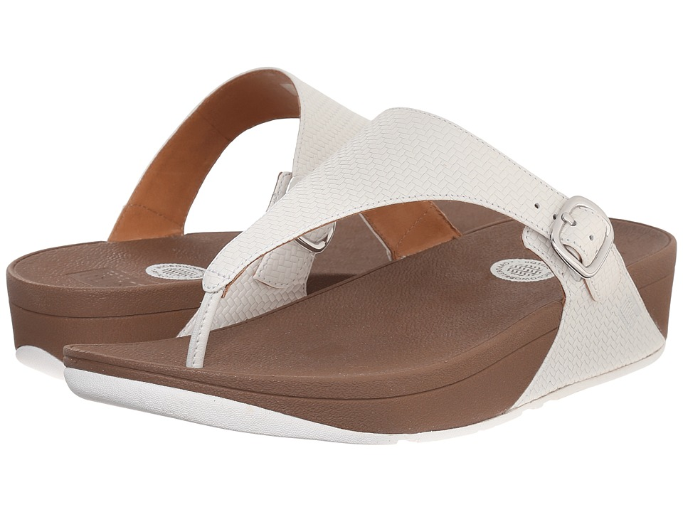 FitFlop - The Skinny (Urban White(textured)) Women's Sandals
