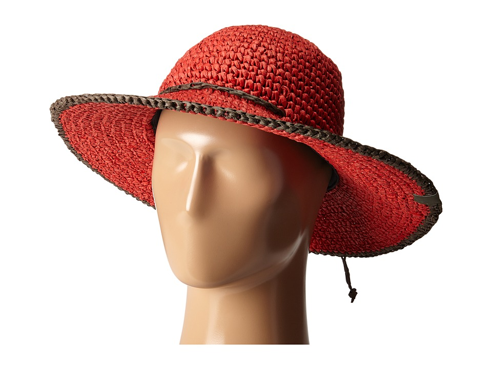 Mountain Hardwear - Raffia Crusher II (Red Hibiscus) Traditional Hats