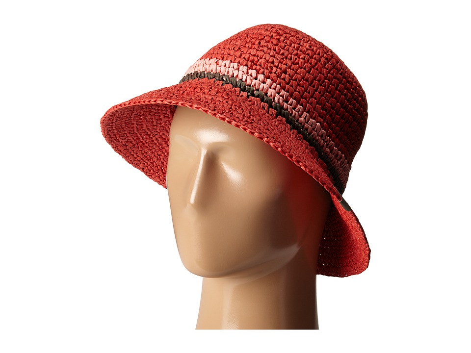 Mountain Hardwear - Raffia Bucket (Red Hibiscus) Bucket Caps