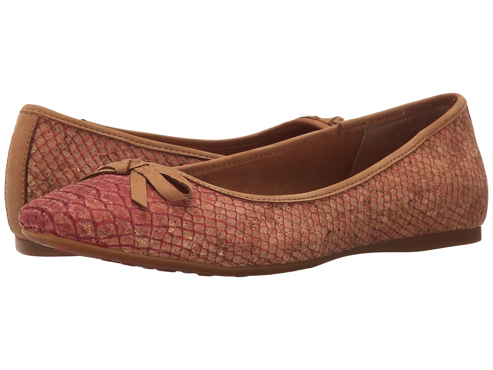 Born Carri (Red Snake Cork) Women