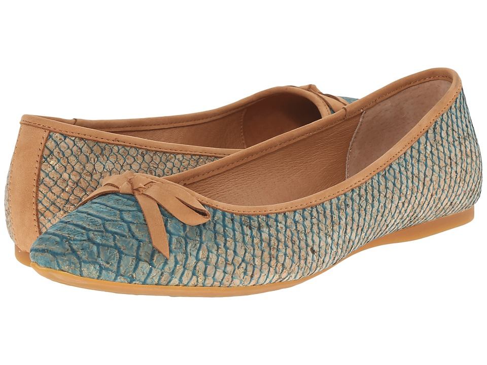 Born Carri (Aqua Snake Cork) Women