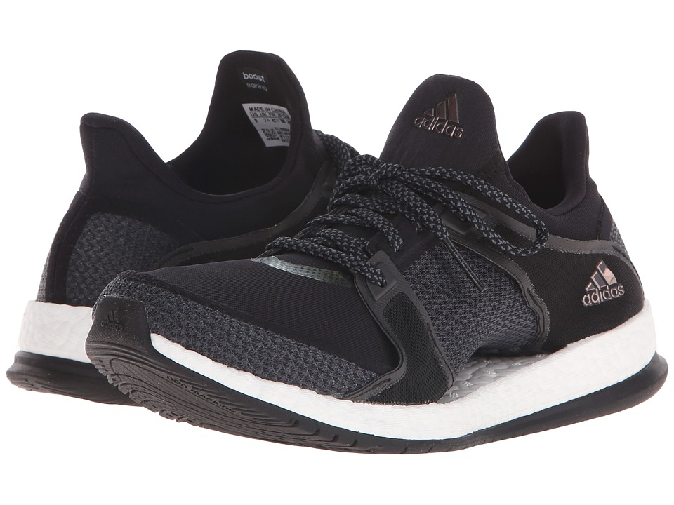 adidas - Pure Boost X Trainer (Black/Onix) Women's Cross Training Shoes