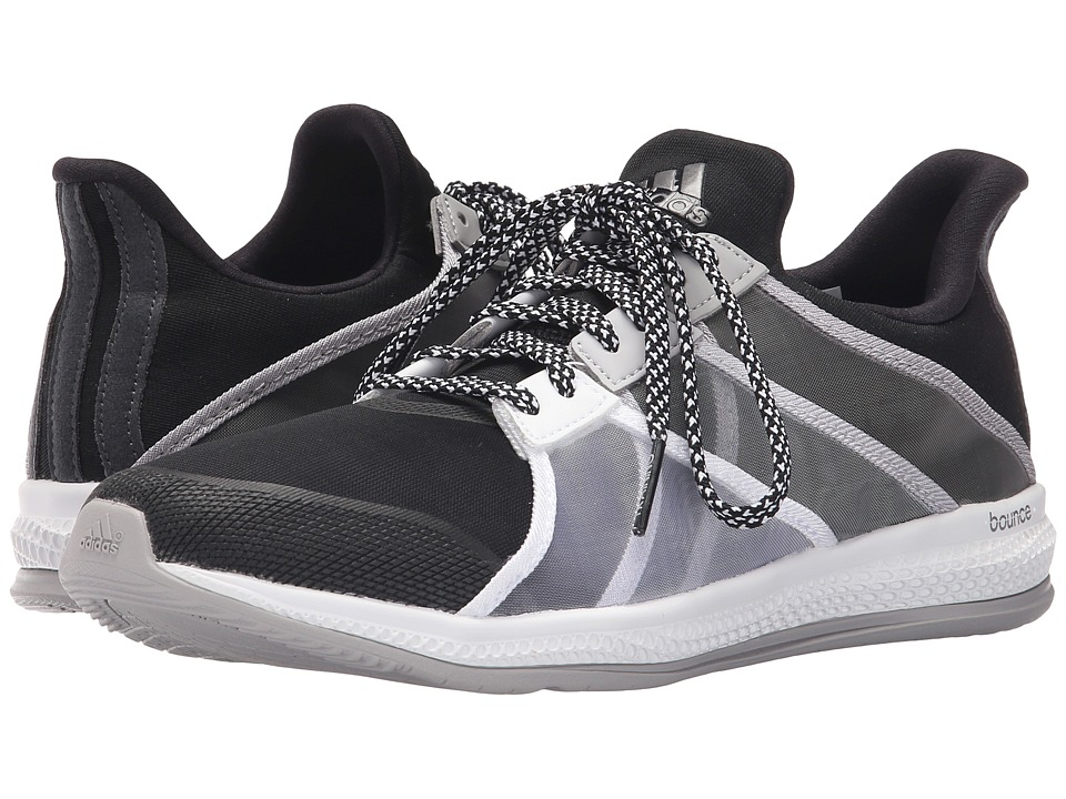 adidas - Gymbreaker Bounce (Black/Night Metallic/MGH Solid Grey) Women's Cross Training Shoes