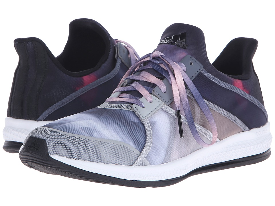 adidas - Gymbreaker Bounce (Black/Halo Pink) Women's Cross Training Shoes