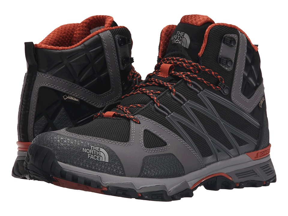 The North Face - Ultra Hike II Mid GTX (TNF Black/Arabian Spice) Men's Hiking Boots