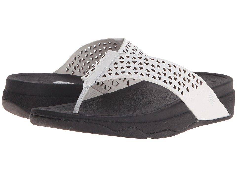 FitFlop - Lattice Surfa (Urban White) Women's Sandals