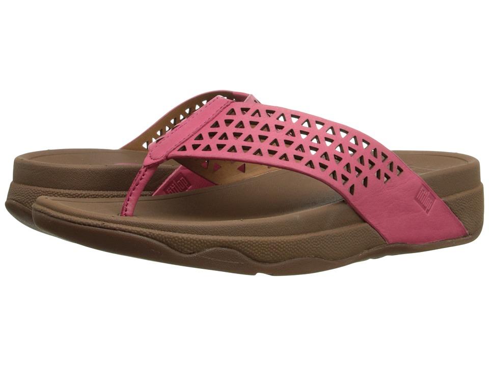 FitFlop - Lattice Surfa (Bubblegum) Women's Sandals