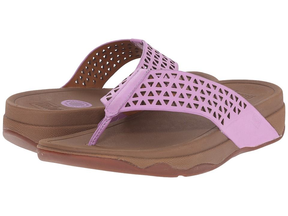 FitFlop - Lattice Surfa (Dusty Lilac) Women's Sandals
