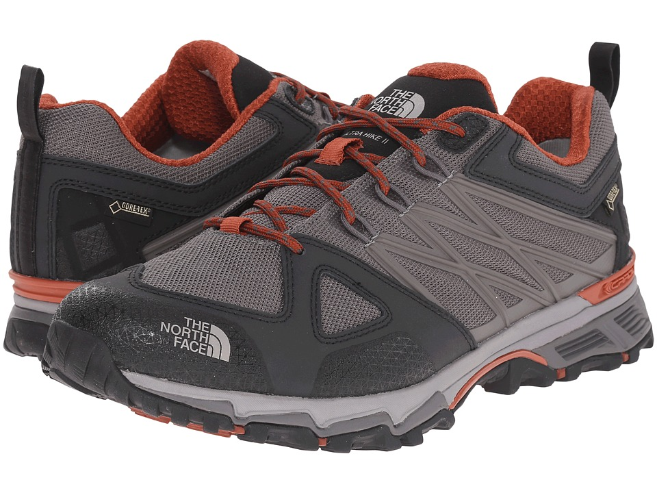 The North Face Ultra Hike II GTX(r) (Dark Gull Grey/Arabian Spice) Men