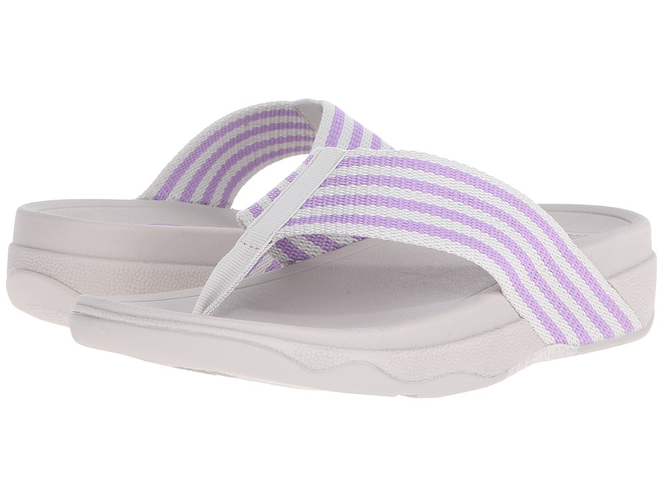 FitFlop - Surfa (Dusty Lilac/Rainy Day) Women's Sandals
