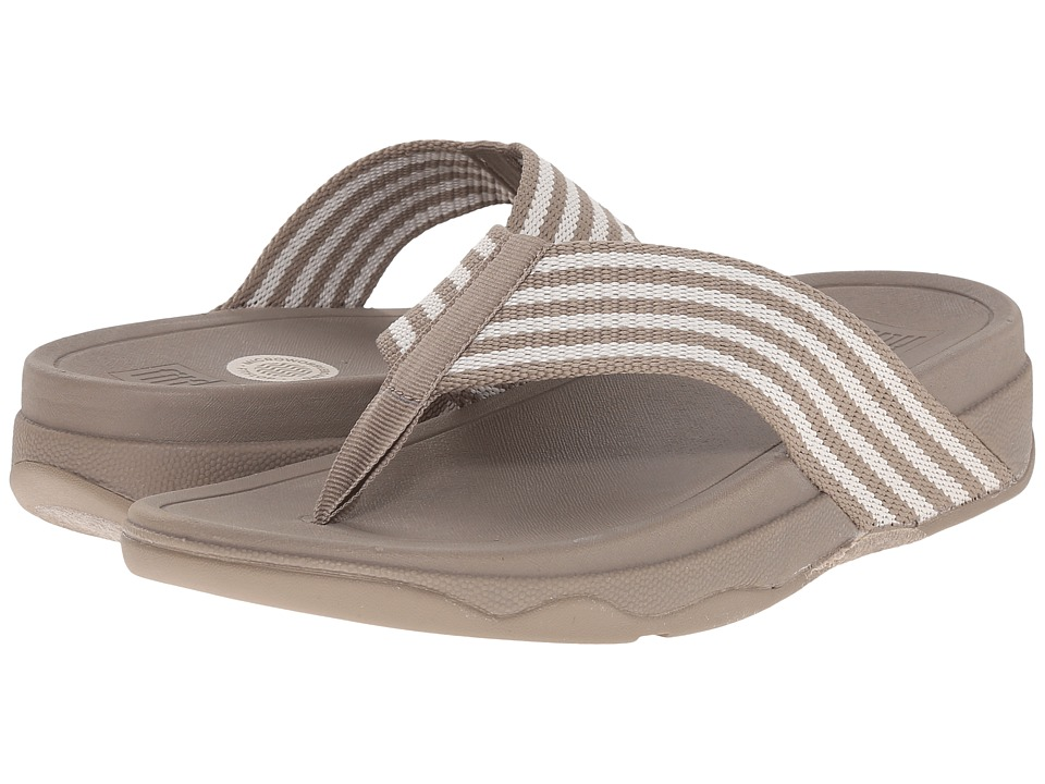 FitFlop - Surfa (Stone/Rainy Day) Women's Sandals