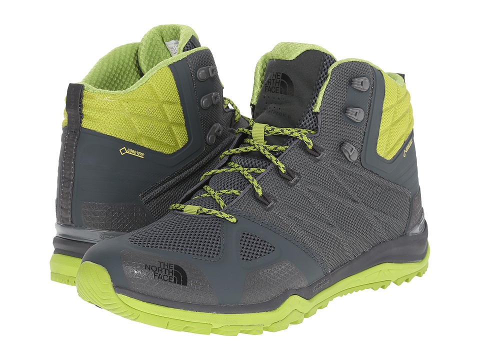 The North Face - Ultra Fastpack II Mid GTX (Spruce Green/Macaw Green) Men's Hiking Boots