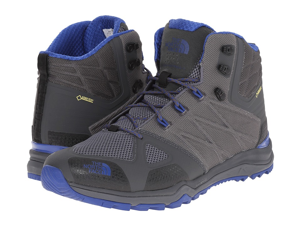 The North Face - Ultra Fastpack II Mid GTX (Zinc Grey/Limoges Blue) Men's Hiking Boots