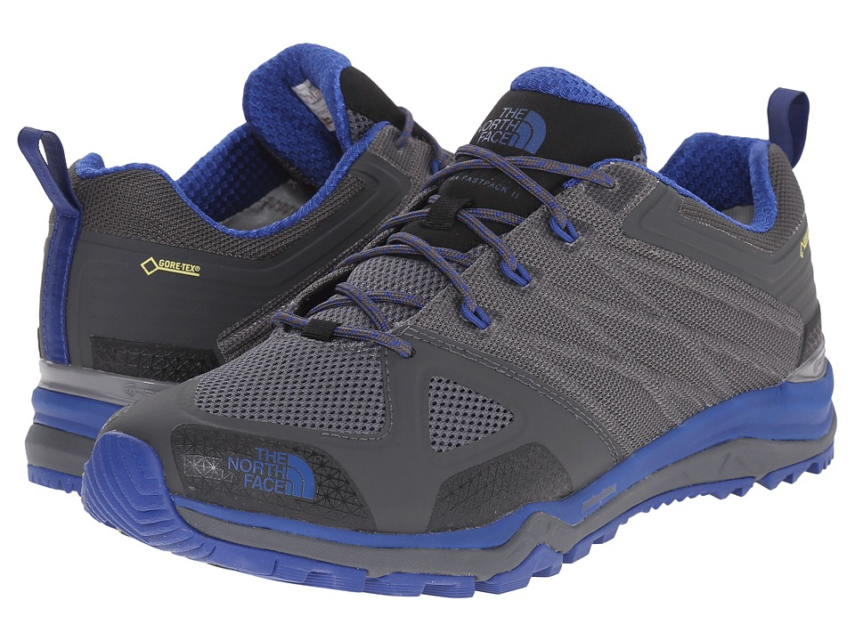 The North Face - Ultra Fastpack II GTX (Zinc Grey/Limoges Blue) Men's Shoes