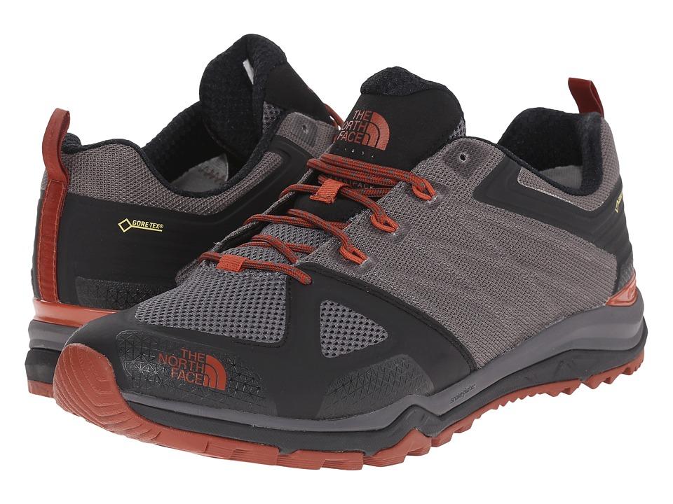 The North Face - Ultra Fastpack II GTX (Dark Gull Grey/Arabian Spice) Men's Shoes