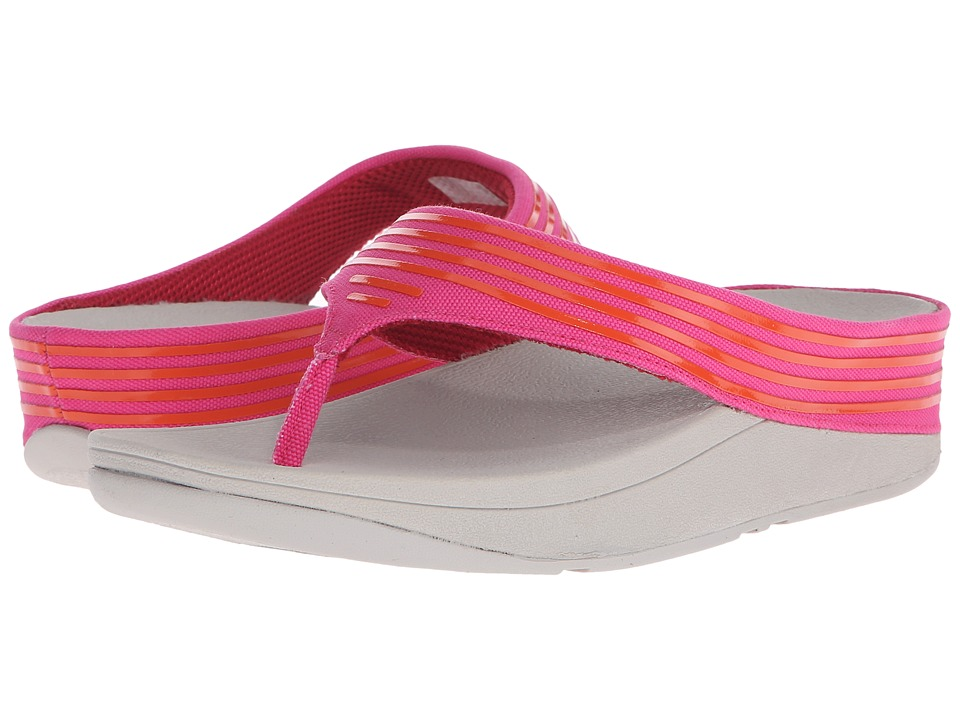 FitFlop - Ringer Toe Post (Bubblegum) Women's Sandals