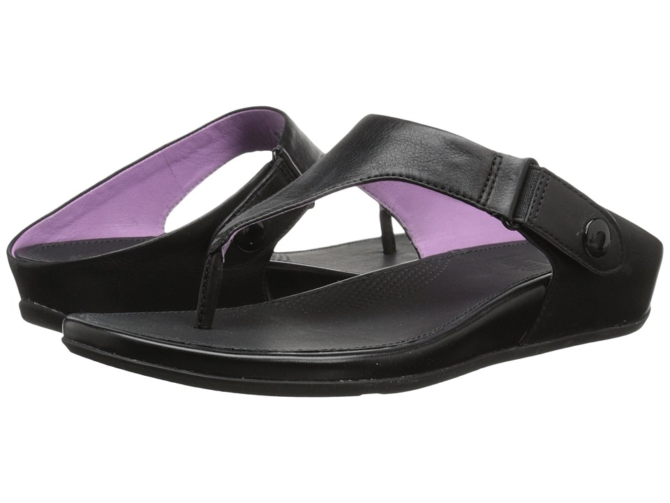 FitFlop - Gladdie Toe Post (Black) Women