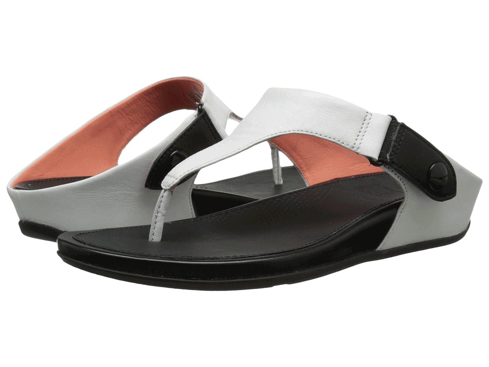 FitFlop - Gladdie Toe Post (Urban White) Women's Sandals