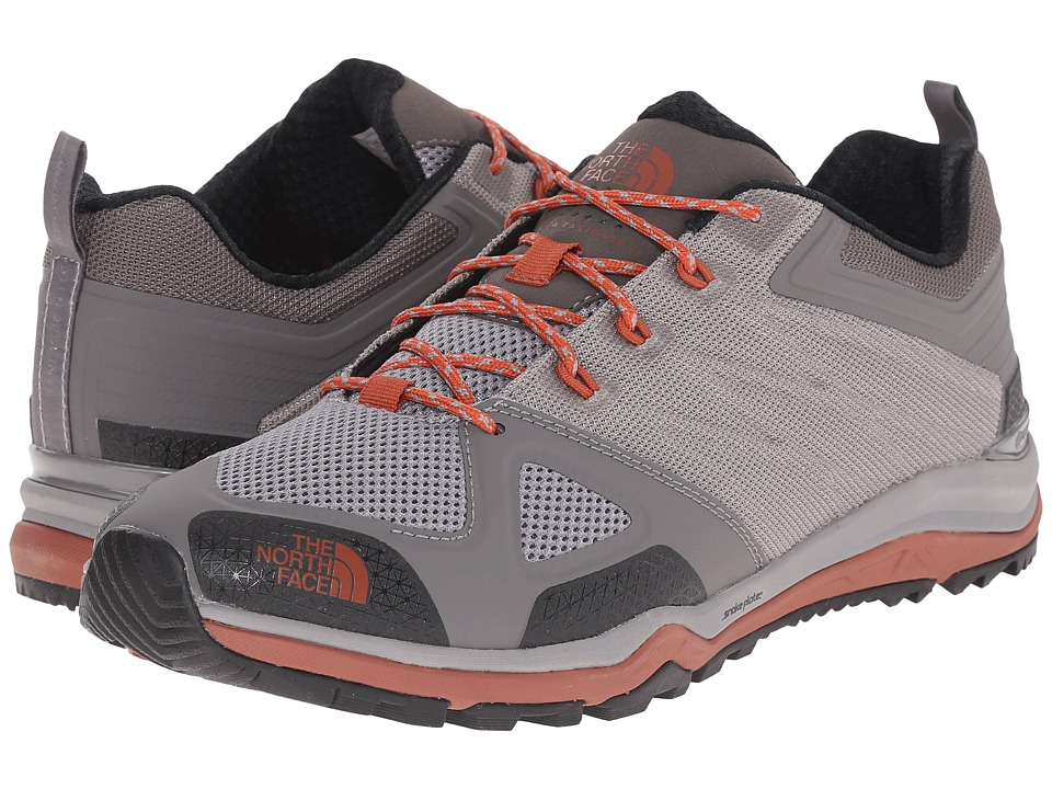The North Face - Ultra Fastpack II (Q-Silver Grey/Arabian Spice) Men's Shoes