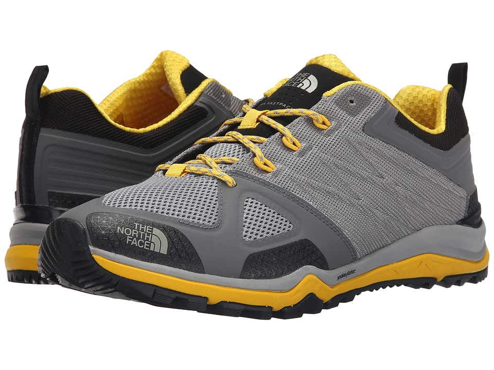 The North Face - Ultra Fastpack II (Griffin Grey/Freesia Yellow) Men's Shoes