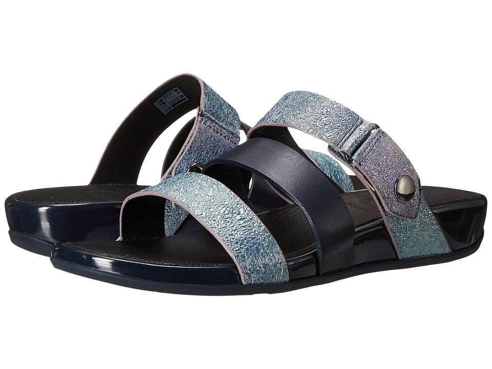 FitFlop - Gladdie Slide (Supernavy Shimmer) Women's Sandals
