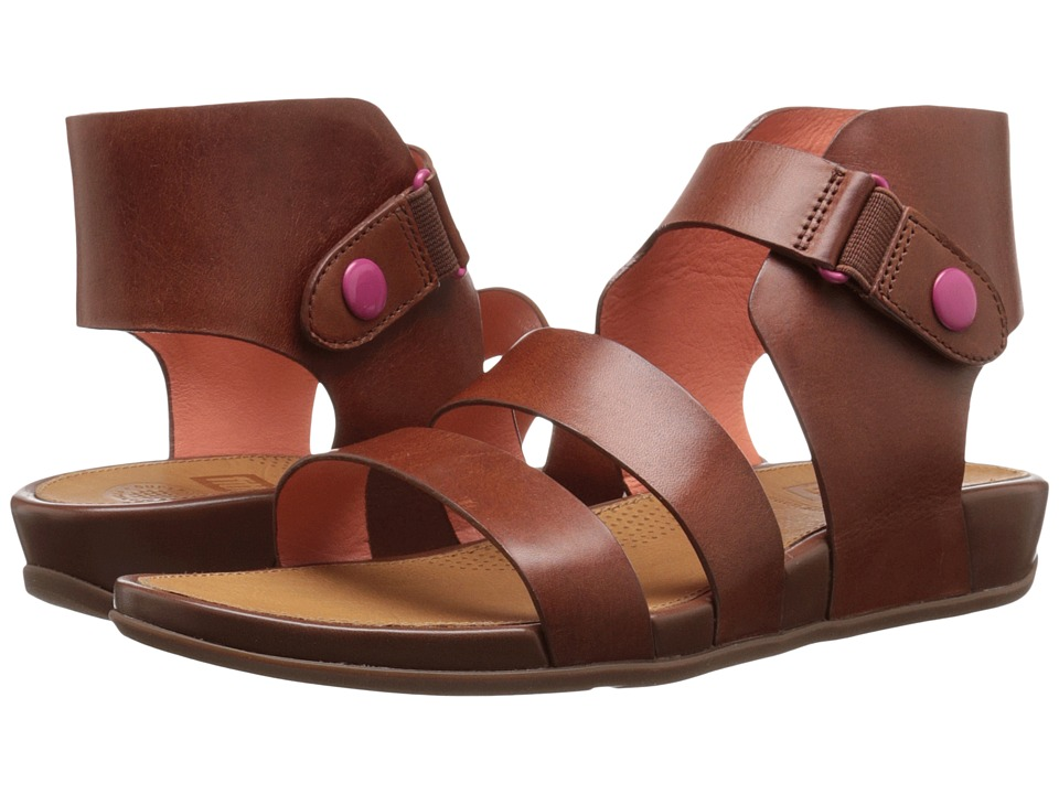 FitFlop - Gladdie (Dark Tan) Women's Sandals