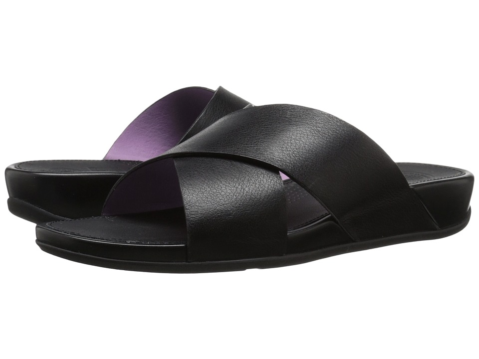 FitFlop Aix Slidetm (All Black) Women
