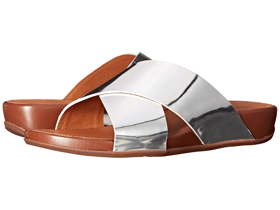 FitFlop - Aix Slide (Silver) Women's Sandals