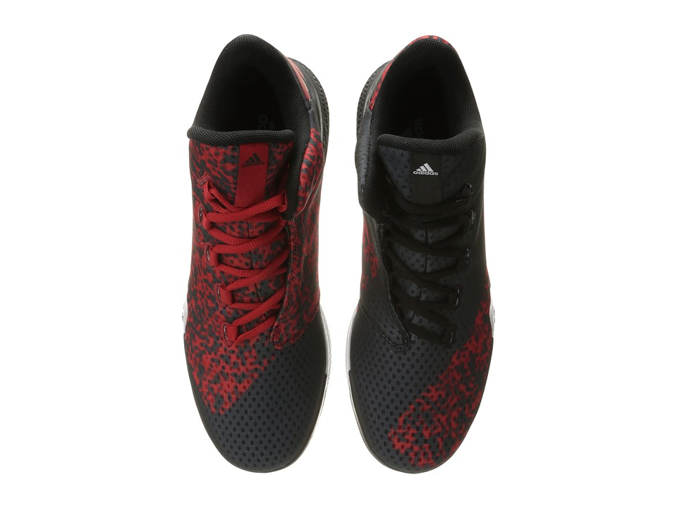 adidas - Light'em Up 2 (Black/Scarlet/White) Men's Basketball Shoes