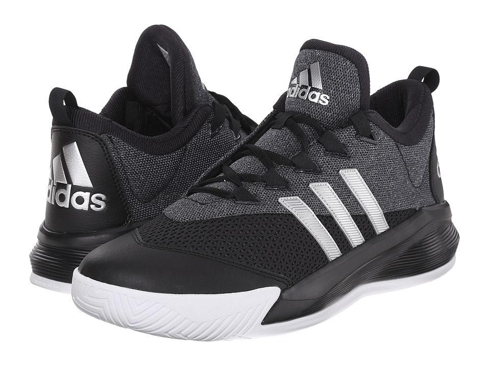 adidas - Crazylight 2.5 Active (Black/Silver Metallic/White) Men's Basketball Shoes