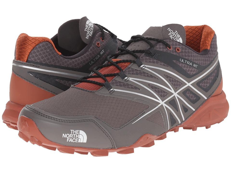 The North Face - Ultra MT (Dark Gull Grey/Arabian Spice) Men's Shoes