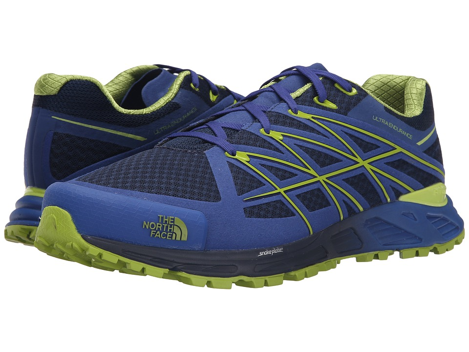 The North Face Ultra Endurance (Cosmic Blue/Macaw Green) Men