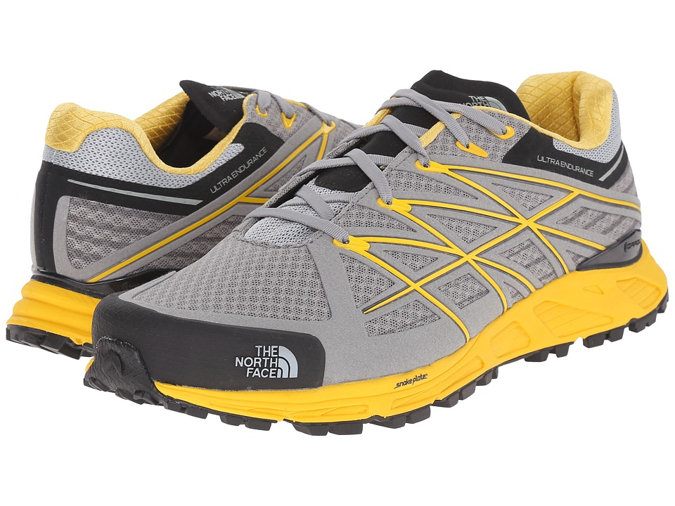 The North Face - Ultra Endurance (Griffin Grey/Freesia Yellow) Men's Running Shoes