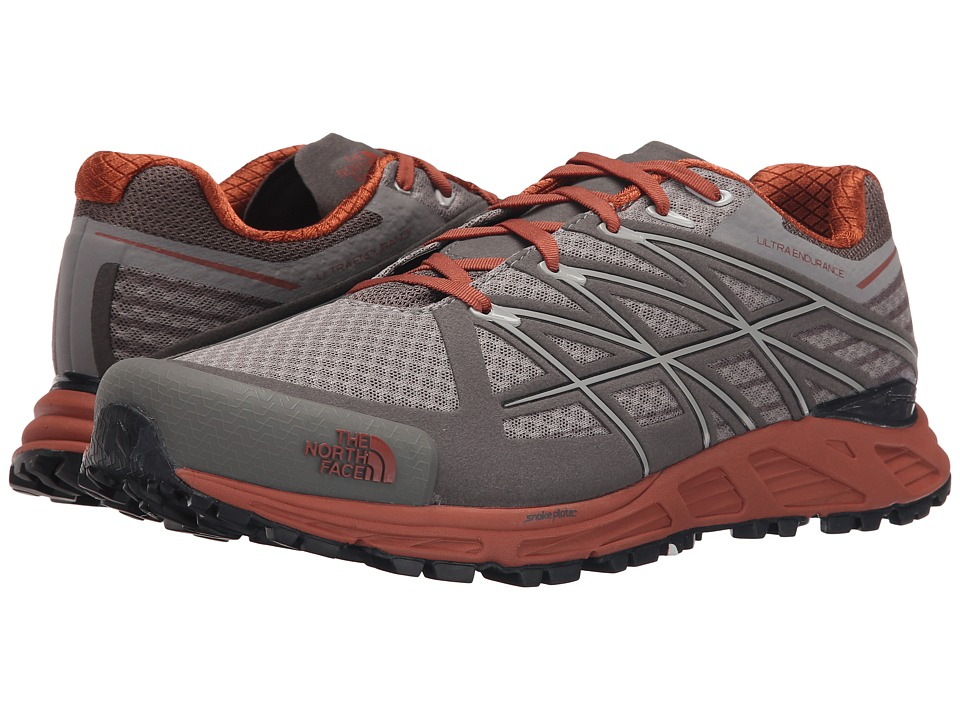 The North Face - Ultra Endurance (Q-Silver Grey/Arabian Spice) Men's Running Shoes