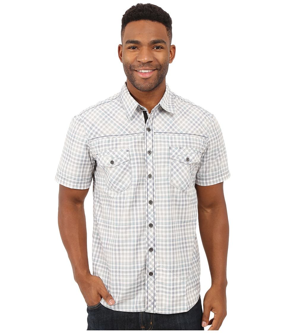 Ecoths - Hendrix Short Sleeve Shirt (Teal) Men's Short Sleeve Button Up