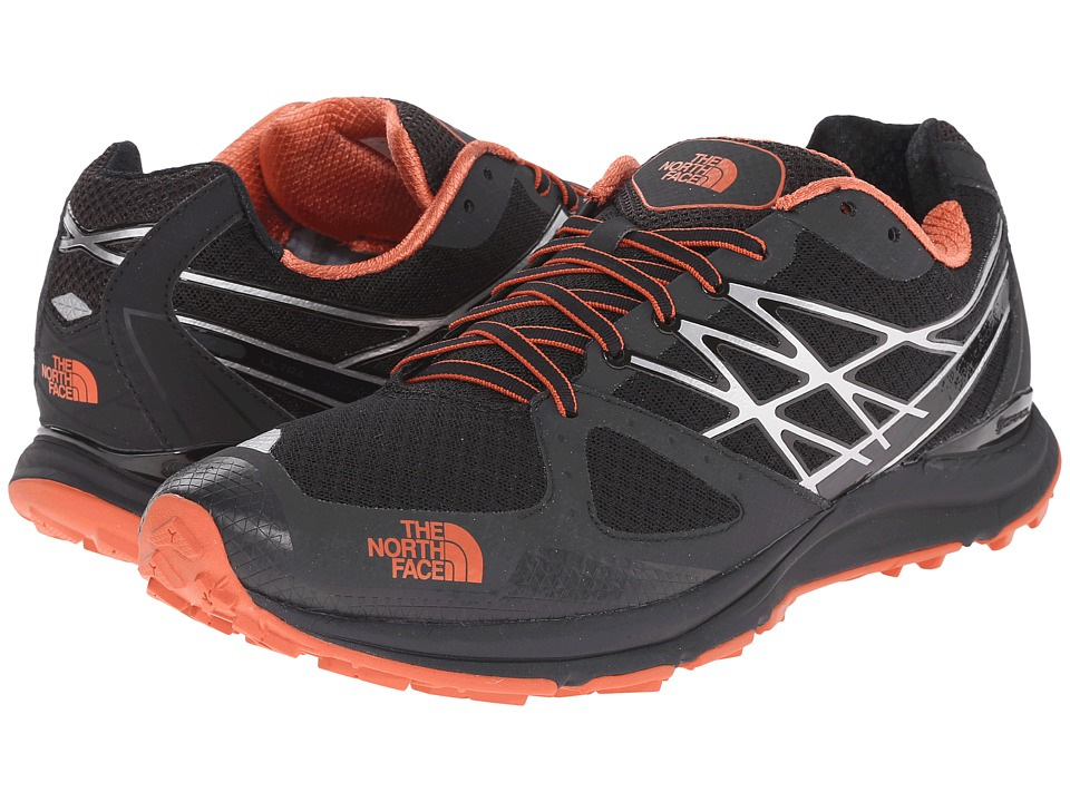 The North Face - Ultra Cardiac (TNF Black/Arabian Spice) Men's Running Shoes